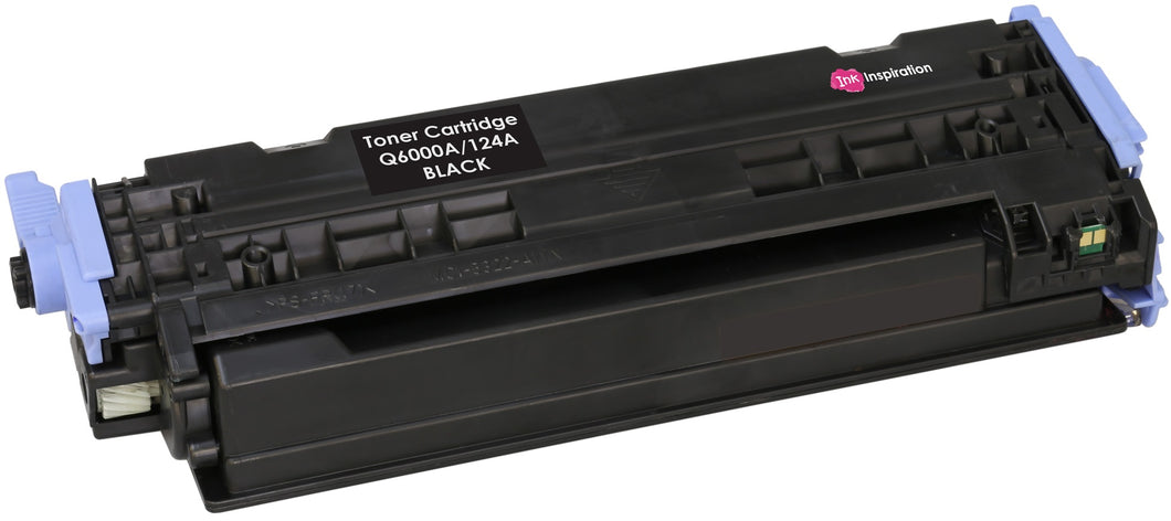 Ink Inspiration Black Compatible Laser Toner Cartridge Replacement for HP 124A Q6000A Colour Laserjet 1600 1600n 2600 2600n 2600dn 2605 2605d 2605dn 2605dtn CM1015 mfp CM1017 mfp | 2,500 Pages - ink-inspiration