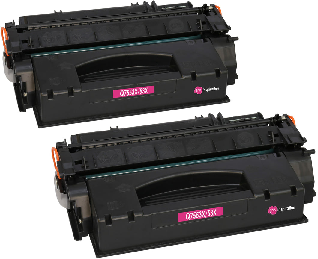 Ink Inspiration 2 Compatible Laser Toner Cartridges Replacement for HP Q7553X - ink-inspiration