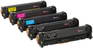 Ink Inspiration 5 (1 Set + 1 Black)   Compatible Toner Cartridges for HP LaserJet Pro M375nw M451dn M451dw M451nw M475dn M475dw | Replacement for HP CE410X 4,000 Pages CE411A CE412A CE413A 2,600 Pages - ink-inspiration