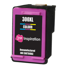 Load image into Gallery viewer, INK INSPIRATION® TRI-COLOUR Remanufactured Ink Cartridge Replacement for HP 300 300XL Deskjet D1660 D2530 D2545 D2560 D2660 D5560 F2420 F2480 F4210 F4240 F4272 F4280 F4580 F4583 Photosmart C4780 C4680