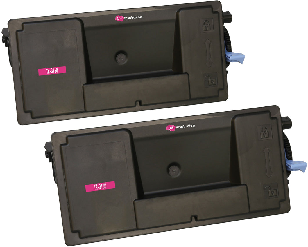Ink Inspiration 2 Compatible TK-3160 TK3160 Laser Toner Cartridges for Kyocera - ink-inspiration
