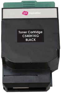 Ink Inspiration BLACK Compatible Laser Toner Cartridge for Lexmark C540n, C543dn, C544dn, C544dtn, C544dw, C544n, C546dtn, X543dn, X544dn, X544dtn, X544dw, X544n, X546dtn | 2,500 Pages - ink-inspiration