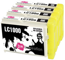 Load image into Gallery viewer, INK INSPIRATION® Replacement for Brother LC1000 LC-1000BK Black Ink Cartridges, Use with Brother DCP-130C DCP-135C DCP-150C DCP-330C DCP-350C DCP-357C DCP-540CN DCP-560CN DCP-770CW MFC-235C MFC-465CN