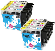 Load image into Gallery viewer, INK INSPIRATION® Replacement for Brother LC985 Ink Cartridges 10-Pack, Use with Brother DCP-J315W DCP-J125 DCP-J140W DCP-J515W MFC-J415W MFC-J220 MFC-J265W MFC-J410