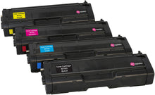Load image into Gallery viewer, Ink Inspiration Set of 4 Compatible Laser Toner Cartridges for Ricoh SPC250DN SPC250DNw SPC250SF SPC252DN SPC252SF | Print Yield: 2,000 Pages (Black) & 1,600 Pages (Colours) - ink-inspiration