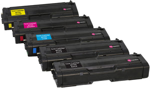 Ink Inspiration 5 (1 SET + 1 BLACK) Compatible Laser Toner Cartridges for Ricoh SPC250DN SPC250DNw SPC250SF SPC252DN SPC252SF | Print Yield: 2,000 Pages (Black) & 1,600 Pages (Colours) - ink-inspiration