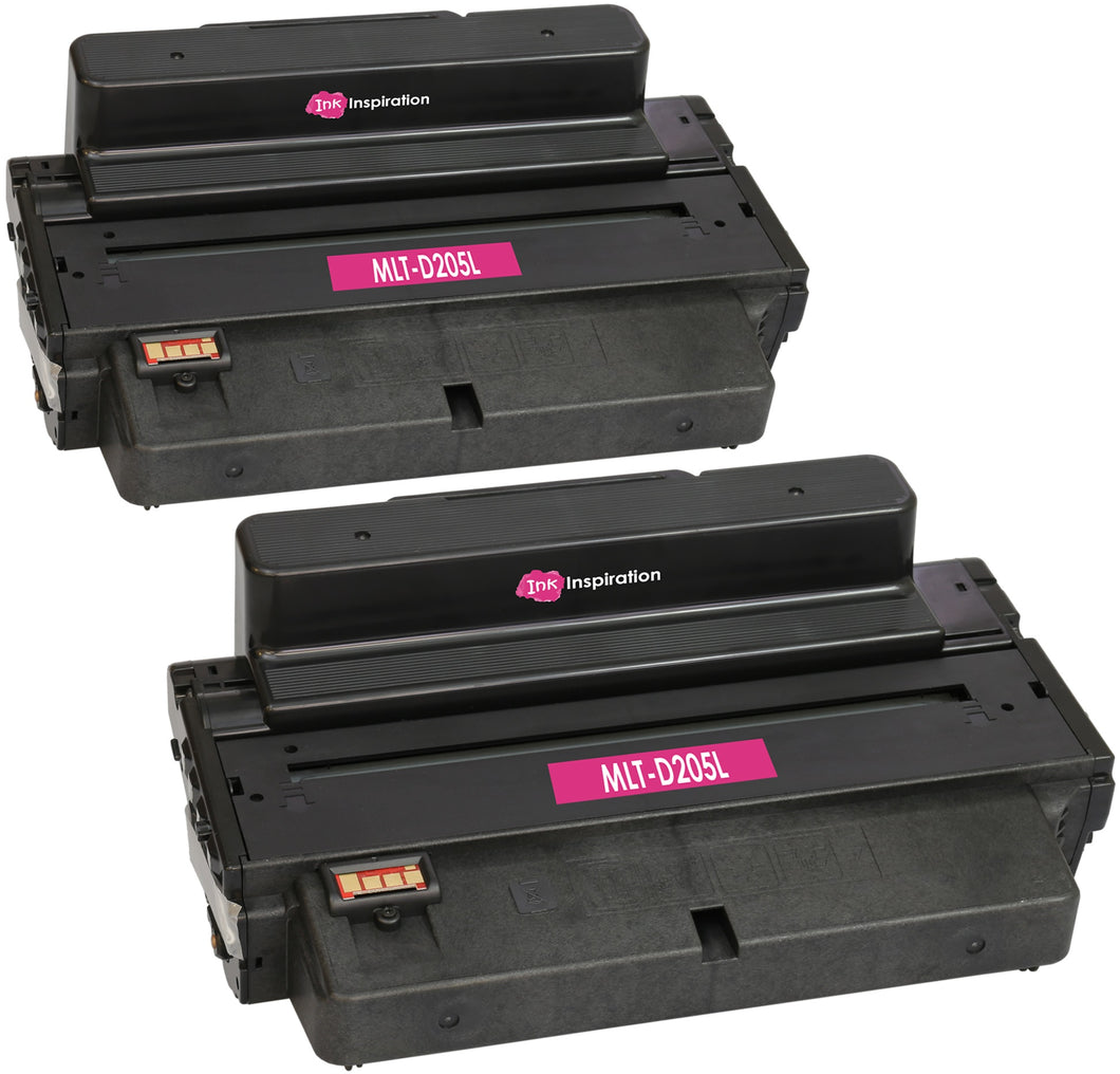 Ink Inspiration 2 Compatible MLT-D205L D205L Laser Toner Cartridges for Samsung - ink-inspiration