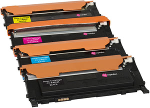 Ink Inspiration Set of 4 Compatible Laser Toner Cartridges for Samsung CLP-310 310N CLP-315 315W CLX-3170 3170FN CLX-3175 3175FN 3175FW 3175N CLT-K4092S 1,500 Pages CLT-C4092S CLT-M4092S CLT-Y4092S 1,000 Pages - ink-inspiration