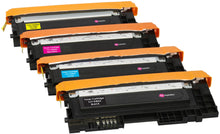 Load image into Gallery viewer, Ink Inspiration Set of 4 Compatible Laser Toner Cartridges for Samsung Xpress SL C410W C460FW C460W C467W CLP-360 CLP-365 CLP-365W CLX-3305 CLX-3305FN 3305W | Print Yield: 1,500 Pages (Black) & 1,000 Pages (Colours) - ink-inspiration