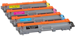 Ink Inspiration Set of 4 Compatible TN241 TN245 Laser Toner Cartridges for Brother HL-3140CW HL-3150CDW HL-3170CDW DCP-9020CDW MFC-9140CDN 9330CDW 9340CDW | Print Yield: 2,500 Pages (Black) & 2,200 Pages (Colours) - ink-inspiration