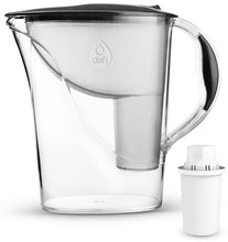 Load image into Gallery viewer, Water Filter Jug Dafi Atria Classic 2.4L with Free Filter Cartridge - Graphite