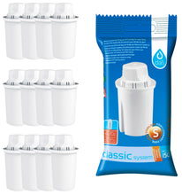 Laden Sie das Bild in den Galerie-Viewer, Pack of 12 Dafi Classic Water Filter Cartridges for Brita Classic and Dafi Classic Jugs