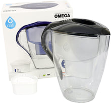 Load image into Gallery viewer, Water Filter Jug Dafi Omega Unimax 4.0L LED with Free Filter Cartridge - Graphite