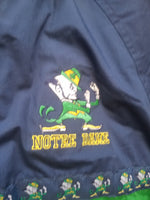 Vintage Youth Pro Player Notre Dame Fighting Irish Hooded Jacket Size Large