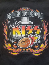 Load image into Gallery viewer, Mens LA KISS Gridiron God's of LA Tshirt Size Large-Black