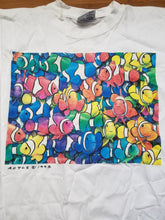 Load image into Gallery viewer, Vintage Mens 1993 Royce B. McClure Clownfish Tshirt Size Medium-White
