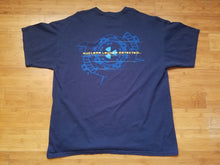 Load image into Gallery viewer, Mens Starcraft 2 Wings of Liberty Double Sided Tshirt Size XL-Navy Blue