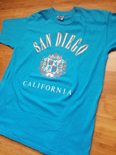 Load image into Gallery viewer, Vintage Mens 1991 San Diego California Tshirt Size XL-Teal