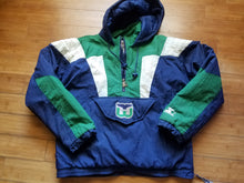 Load image into Gallery viewer, Vintage Mens Starter Hartford Whalers 3/4 Pullover Jacket/Parka Size Medium