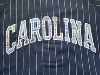 Vintage Mens Starter North Carolina Tarheels Pinstripe Jersey Size Medium-Blue