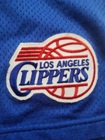 Vintage Mens Reebok Los Angeles Clippers Authentic Pro Cut Shorts Size 46-Blue