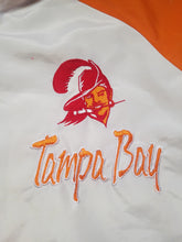 Load image into Gallery viewer, Vintage Mens Logo Athletic Tampa Bay Buccaneers Splash Jacket Size XL