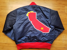 Load image into Gallery viewer, Vintage Mens Starter California/Anaheim Angels Satin Jacket Size Small