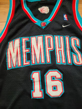 Load image into Gallery viewer, Vintage Mens Nike Memphis Grizzlies Pau Gasol Swingman Jersey Size XL-Black