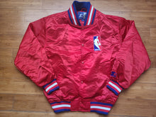 Load image into Gallery viewer, Vintage Mens Starter NBA Referee Jacket Size Medium-Red
