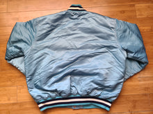 Load image into Gallery viewer, Vintage Mens Starter North Carolina Tar Heels Satin Jacket Size Large-Light Blue