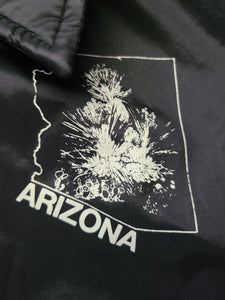 Mens Chalk Line Arizona Button Up Jacket Size Large-Black