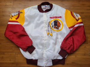 Vintage Mens Chalk Line Washington Redskins Fanimation Jacket Size Medium
