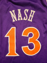 Load image into Gallery viewer, Vintage Mens Reebok Phoenix Suns Steve Nash Hardwood Classics Jersey Size 3XL-Purple