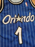 Vintage Mens Champion Orlando Magic Penny Hardaway Authentic Jersey Size 40-Blue