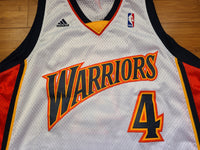 Vintage Mens Adidas Golden State Warriors Anthony Randolph Autographed Swingman Jersey Size XL-White