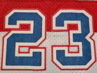 Vintage Mens Nike Washington Bullets Michael Jordan Swingman Jersey Size XXL-White