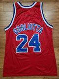 Vintage Mens Champion Washington Bullets Tom Gugliotta Jersey Size 44-Red