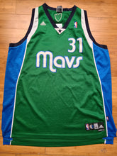 Load image into Gallery viewer, Vintage Mens Adidas Dallas Mavericks Jason Terry Swingman Jersey Size XXL-Green