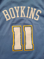 Rare Vintage Mens Reebok Denver Nuggets Earl Boykins Swingman Jersey Size Large-Light Blue