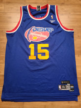 Load image into Gallery viewer, Vintage Mens Reebok Denver Nuggets Carmelo Anthony Retro Jersey Size XL-Blue
