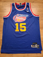 Vintage Mens Reebok Denver Nuggets Carmelo Anthony Retro Jersey Size XL-Blue