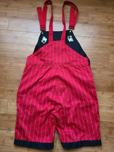Load image into Gallery viewer, Vintage Mens Starter UNLV Runnin Rebels Pinstripe Overalls Size Medium-Red. Great Condition.