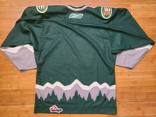 Load image into Gallery viewer, Mens Reebok/CCM Everett Silvertips WHL CHL Jersey Size Small-Green