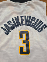 Load image into Gallery viewer, Mens Reebok Indiana Pacers Sarunas Jasikevicius Swingman Jersey Size XL-White