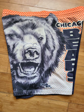 Load image into Gallery viewer, Vintage Mens Chalk Line Chicago Bears Fanimation Sweat Shorts Size Medium