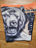 Vintage Mens Chalk Line Chicago Bears Fanimation Sweat Shorts Size Medium