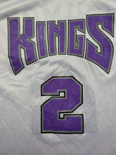 Load image into Gallery viewer, Vintage Mens Champion Sacramento Kings Mitch Richmond Jersey Size 44-White