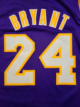 Load image into Gallery viewer, Vintage Mens Adidas Los Angeles Lakers Kobe Bryant Swingman Jersey Size Large-Purple