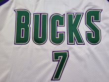 Load image into Gallery viewer, Vintage Mens Starter Milwaukee Bucks Terrell Brandon Authentic Jersey Size 52-White