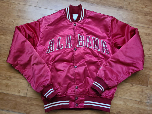 Vintage Mens Starter Alabama Crimson Tide Satin Jacket Size Medium